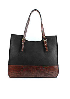 New Directions Dakota Double Shoulder Tote