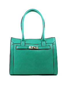 New Directions® Elaina Ostrich Tote