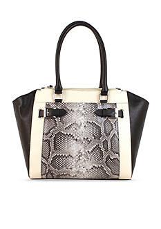 New Directions Shaffer Double Zip Double Shoulder Bag