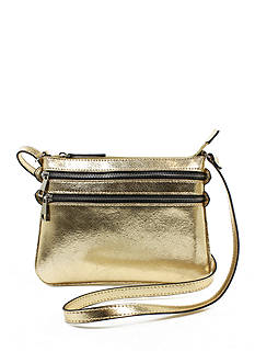 New Directions Double Zip Crossbody