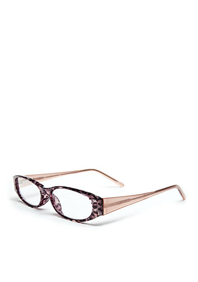 CMC by Corinne McCormack Leopard Print Rectangular Readers