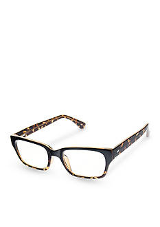 CMC by Corinne McCormack Sydney Black And Tortoise Faded Frame Reader Glasses
