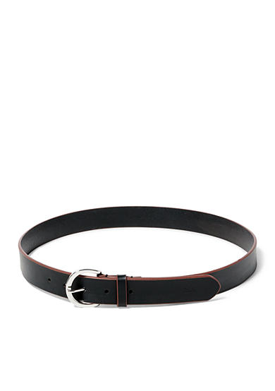 Lauren Ralph Lauren Milford Textured Leather Belt