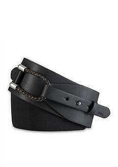 Lauren Ralph Lauren Braided Loop Belt