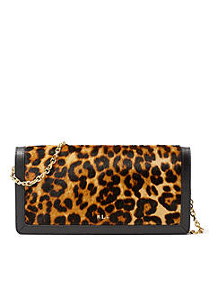 Lauren Ralph Lauren Whitby Calf Hair Clutch