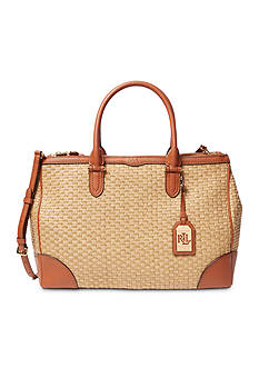 Lauren Ralph Lauren Clifton Double-Zip Satchel