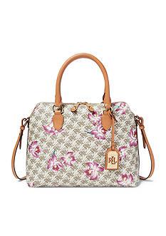Lauren Ralph Lauren Dobson Dome Satchel Bag
