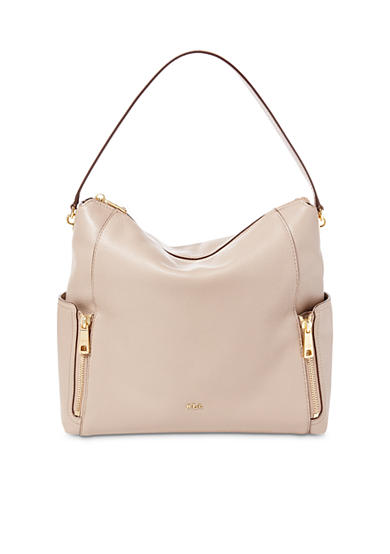 Lauren Ralph Lauren Arley Ramira Leather Hobo Bag