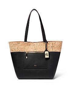 Lauren Ralph Lauren Lauryn Faux-Leather Tote Bag