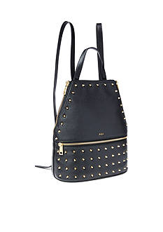Lauren Ralph Lauren Arley Blaine Studded Leather Backpack