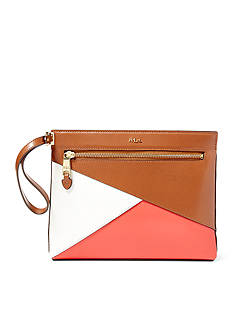 Lauren Ralph Lauren Newbury Yasmeen Color-Blocked Clutch