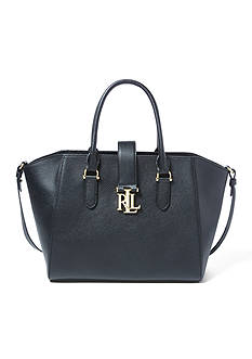 Lauren Ralph Lauren Carrington Leather Shopper