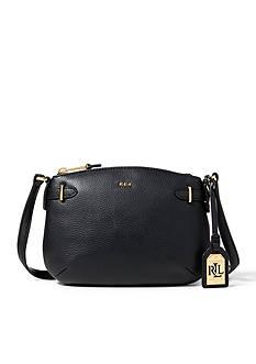 Lauren Ralph Lauren Cecila Leather Cross-Body Bag