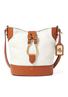 Lauren Ralph Lauren Caden Leather Cross-Body Bag