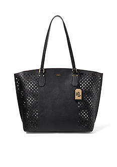 Lauren Ralph Lauren Tanner Perforated Tote