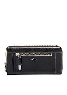 Ralph Lauren Paley Zip-Around Wallet