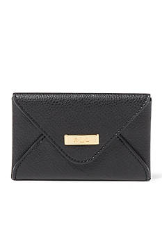 Lauren Ralph Lauren Carlisle Leather Envelope Card Case