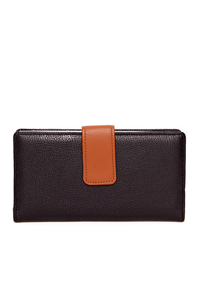 Kim Rogers® Rio Leather Frame Wallet