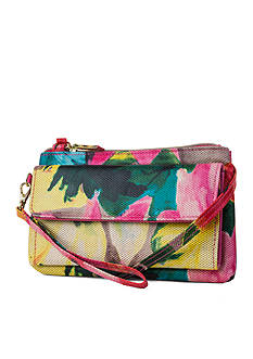 Kim Rogers Tropical Chelsea Wallet with RFID