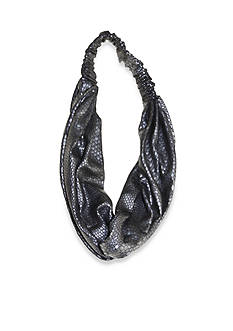 Riviera Crocodile Print Head Wrap