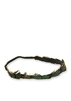 Riviera Feather Head Band