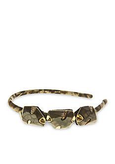 Riviera Trio Stone Leopard Headband