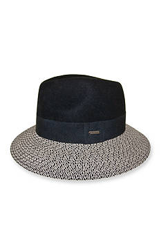 Nine West® Felt and Straw Rancher Hat