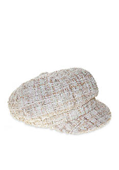 Nine West Women's Sparkle Newsgirl Hat
