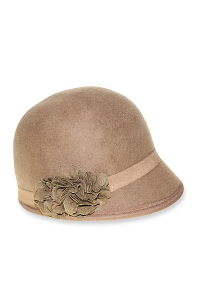 Nine West Felt Cap With Flowers