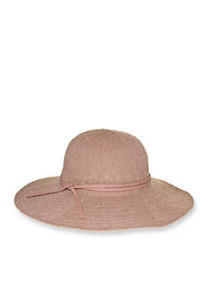 Nine West Textured Knit Floppy Hat