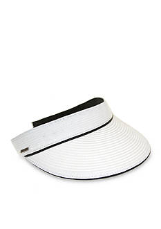 Nine West Feminine Packable Visor Hat