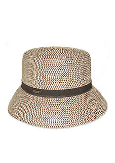 Nine West Packable Microbeam Fedora Hat