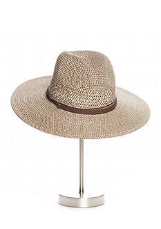Nine West Feminine And Classic Packable Panama Hat