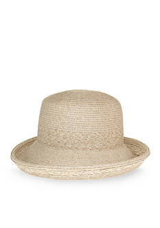 Nine West Feminine Minimalist Packable Kettle Hat
