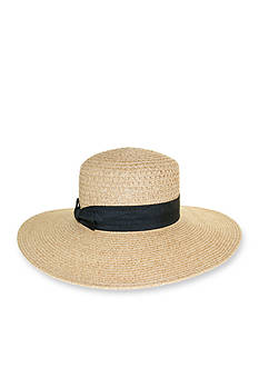 Nine West Packable Boater Hat