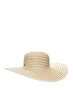 Nine West Packable Striped Super Floppy Hat