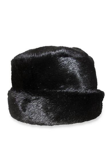 Nine West Faux Fur Cloche Hat