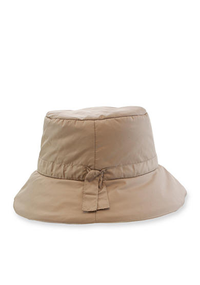 Nine West Quilted Rain Hat