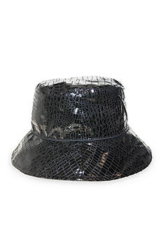 Nine West Reversible Bucket Rain Hat