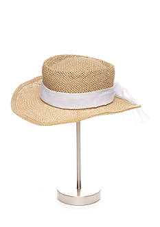 New Directions® Straw Gambler Hat with Sash