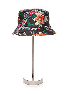 New Directions® Tropical Print Reversible Bucket Hat