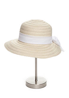 New Directions® Paper Face Framer Hat With Bow