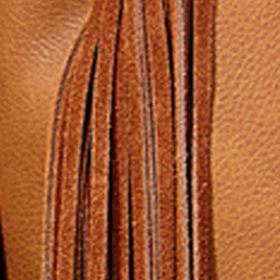 Juniors Accessories: Crossbodies: Brown Big Buddha Fringe Benefits Belted Crossbody Bag