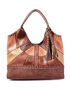 STEVEN Patchwork Tobo Bag