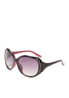Red Camel® Rounded Square Bling Sunglasses