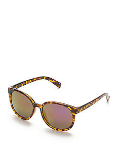Red Camel Round Tortoise Sunglasses