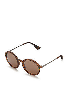 Red Camel Round Retro Sunglasses