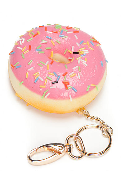 Red Camel® Pink Sprinkle Donut Key Chain
