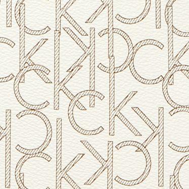 White Handbags: Almond/Khaki/Camel Calvin Klein Hudson Satchel