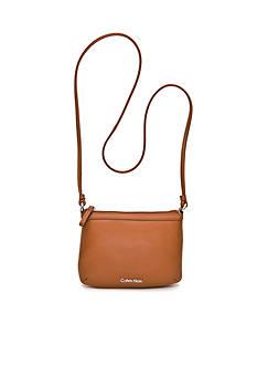 Calvin Klein Key Item Leather Crossbody Bag